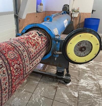 Schonschleudern in der Teppichreinigung