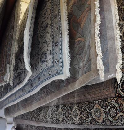 Teppichsauna in der Teppichreinigung